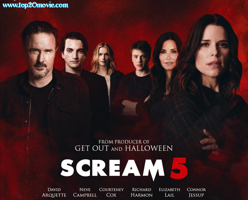 Scream 5 Cast, Trailer, Poster, Horror, Movie, Release Date, All Part, 2022, Story and Explained by Top20movie.com